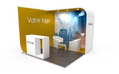 Location stand d'exposition personnalisable NewAge 9m2
