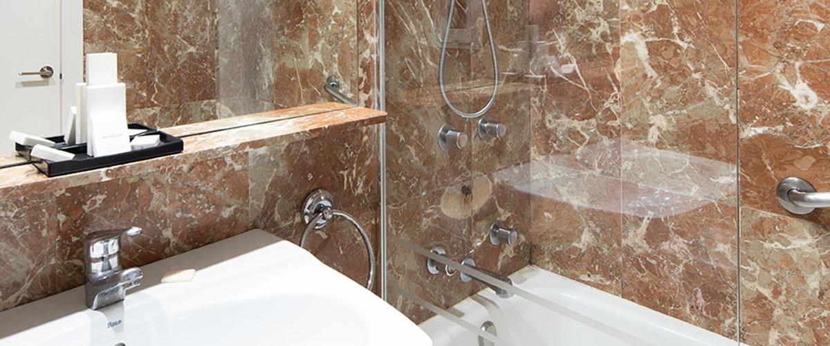Covering intérieur salle de bains