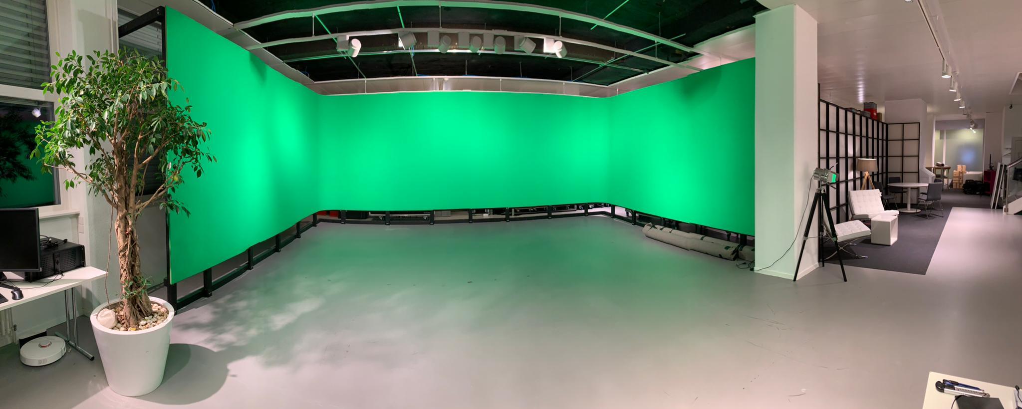 Studio fond vert cyclorama
